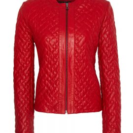 Womens Quilted Leather Women