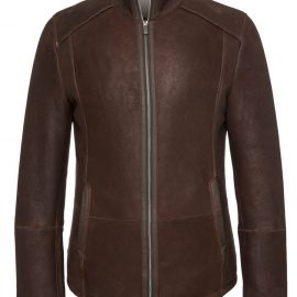 Mens Genuine Shearling Coat for Wholesale