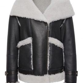 Womens Genuine Shearling Coat